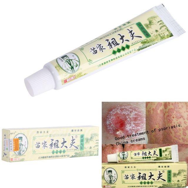 Hot Псориаз, дерматит и экзема, зуд псориаз кожных заболеваний, китай кремы псориаз кремы 15 г LH7s