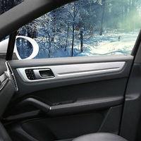 Interior Side Door Decoration Stripe Cover Trim 4pcs For Porsche Cayenne 2019