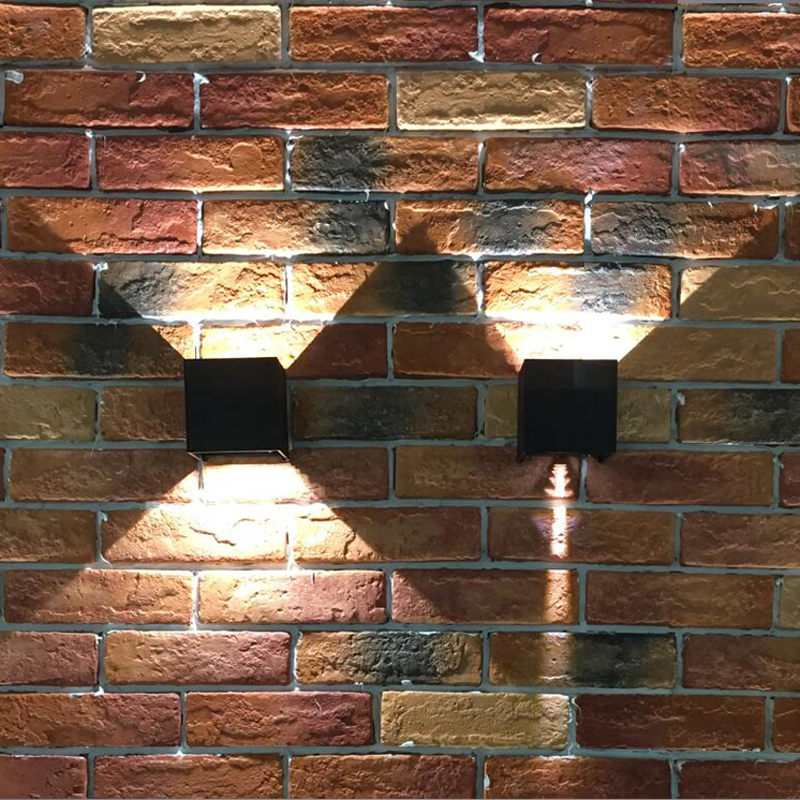 Led Pencahayaan Outdoor, IP65 Adjustable Waterproof Cube Lampu - Pencahayaan luar ruang - Foto 3