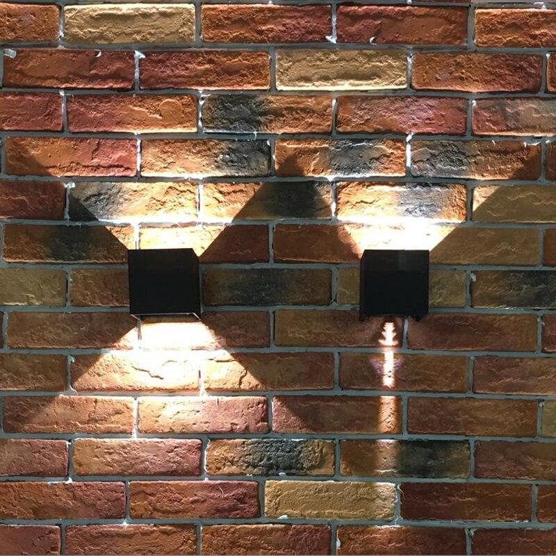 conduziu a luz de parede para cima 02