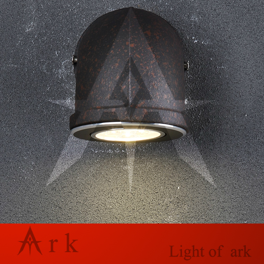 ark light Vintage Industrial Water Pipe Wall Lamps Loft 3W LED Wall Light Bar Restaurant Wall Fixtures110V/220V Bedside Lighting