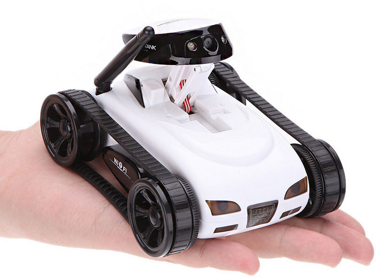 Phone APP control WiFi i-spy MINI RC Tank Toy With Camera Supports IOS phone and toys for children kids remote control