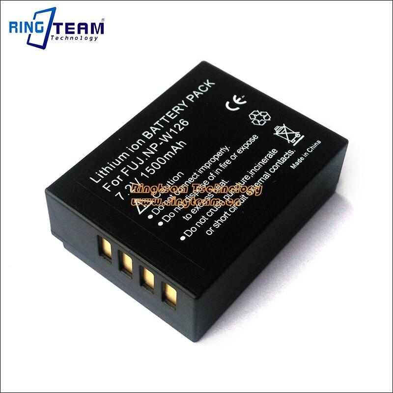 2Pcs Digital Battery NP-W126 NPW126 for Fujifilm Camera FinePix HS30EXR HS33EXR X-Pro1 X-E1 X-E2 X-M1 X-A1 X-A2 X-T1 X-T10 X-T20