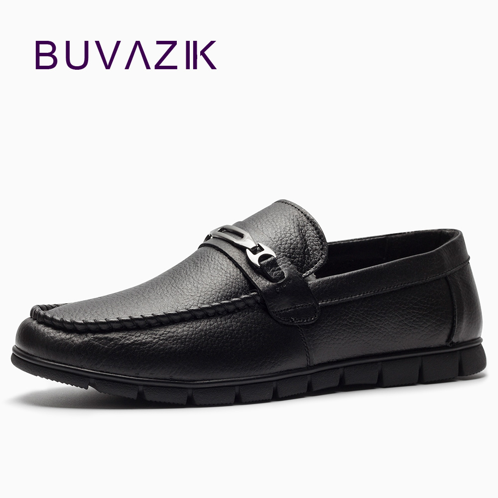 BUVAZIK 2018 genuine leather casual men shoes, comfortable soft leather men loafers,slip-on men flats fashion roegre 2018 genuine leather casual men shoes comfortable soft leather men loafers slip on men flats fashion men s leather shoes