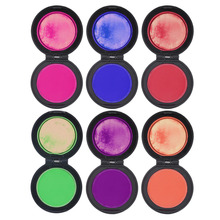 2017 Professional 6-colors Temporary Hair Dye Powder cake Styling Hair Chalk Set Soft Pastels Salon Tools Kit Non-toxic Hot!