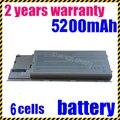 Jigu 4400 mah da bateria do portátil para dell latitude d620 d630 d630c d631 substituir: 0gd775 0gd787 0jd605 0jd606 0jd610 d630 bateria
