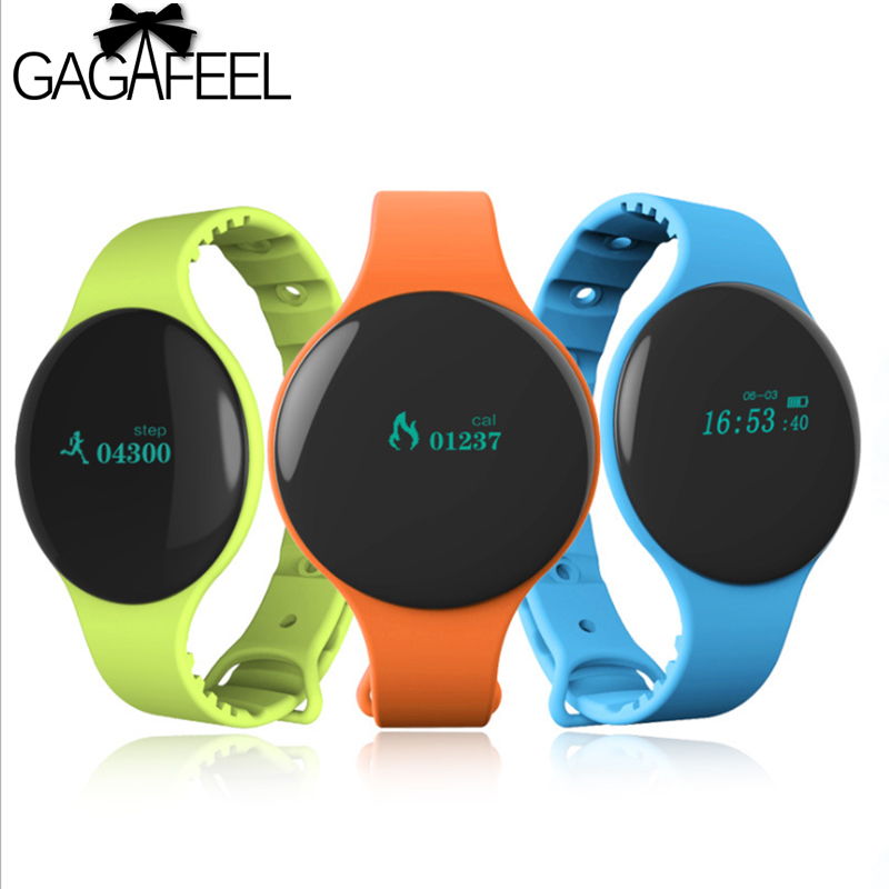 GAGAFEEl Fitness Smart watch for Woemn Men Cicret Bluetooth Activity Tracker Alarm Clock Smart Bracelet Touch Screen Band
