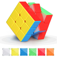 Shengshou 3x3x3 Mr.M Magnetic Cube Twisty Puzzle Toy Colorful Stickerless Puzzles For Children Toys стоимость