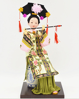Chinese Wind Classical Beauty Series Features Folk Handmade Art Collection Travel Souvenirs Home Decor Crafts Holiday