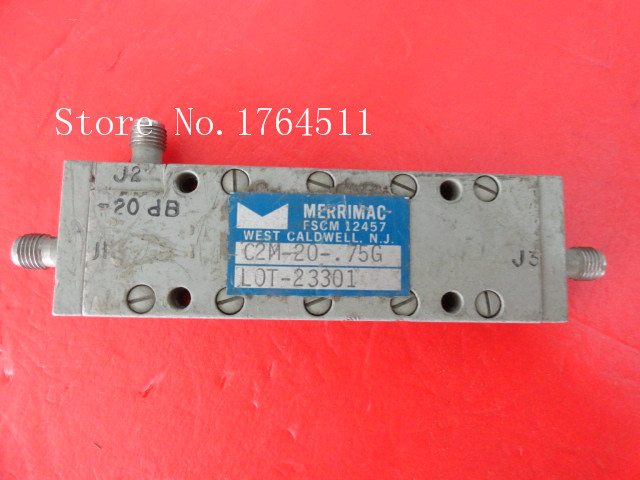 [BELLA] MERRIMAC C2M-20-.75GHZ 0.5-1GHz 20dB Coupler