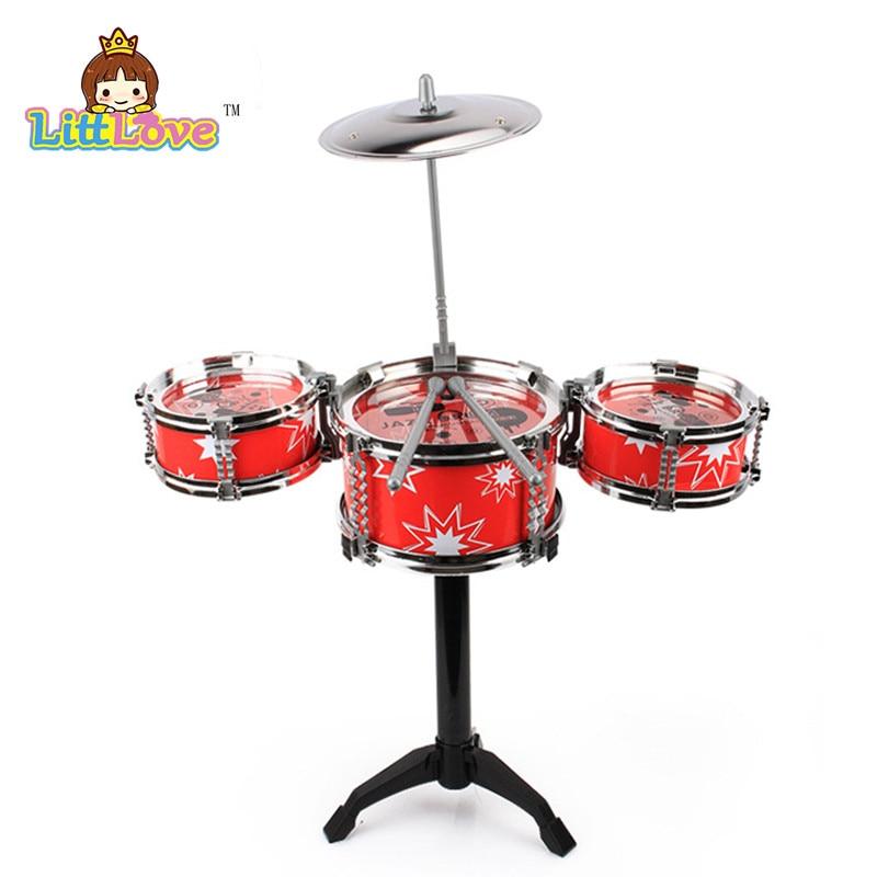 LittLove Kinder Jazz Drum Set Musikinstrument Spielzeug Spielset mit - Lernen und Bildung - Foto 4