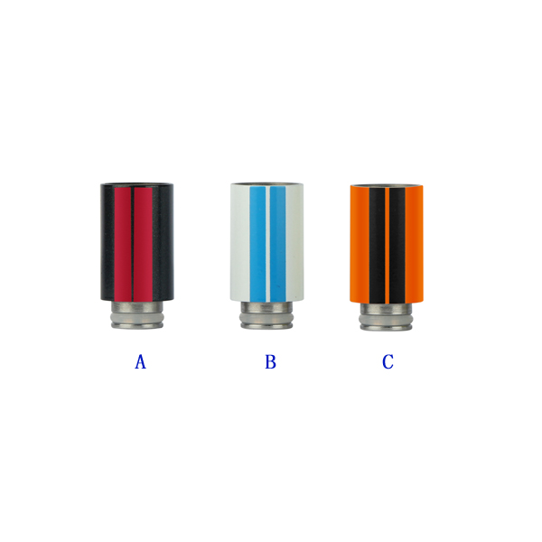 Sailing ecig vape authentic stainless steel drip tips multicolor vape electronic font b cigarette b font
