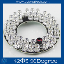 42 LED 5mm Infrared IR Led Board For Camera 90 Degree Bulb.CY42F5-90A