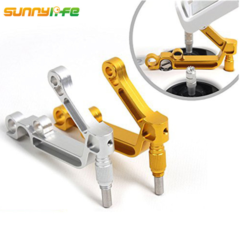 Sunnylife Phantom 3 Aluminum Pad Holder Tablet Metal Mobile Phone Bracket Clamp For DJI Phantom 3 4 Inspire 1 Remote Controller