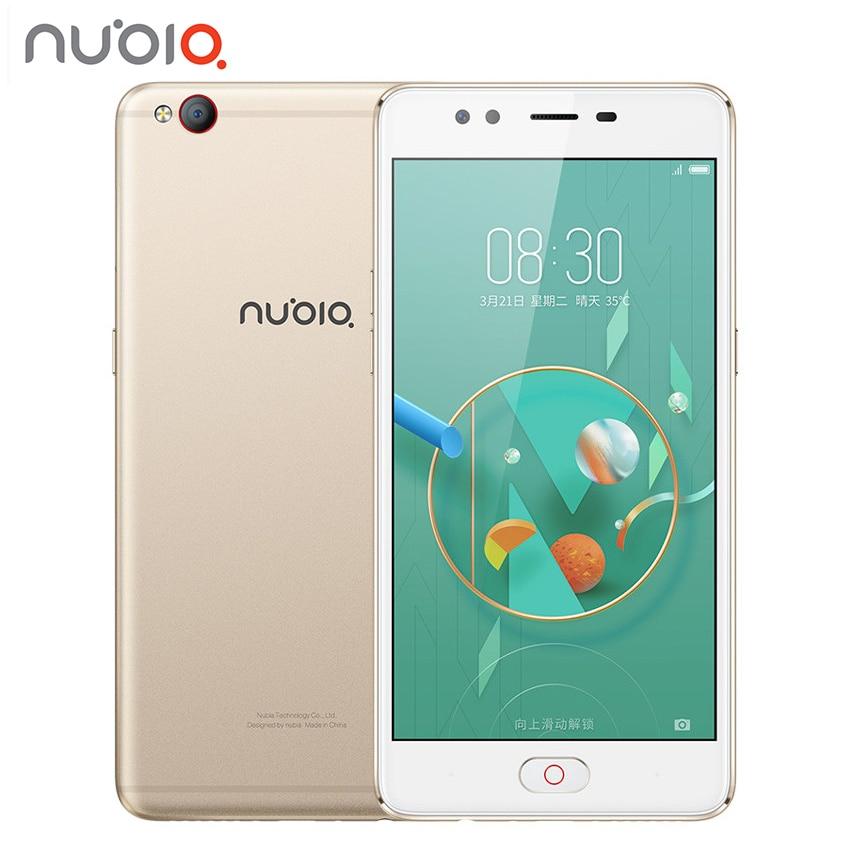 Original 2017 ZTE Nubia M2 LITE 4G LTE MT6750 Octa Core Android M 5 5 4G