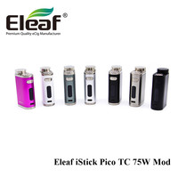 Clearance Sale Authentic Eleaf IStick Pico TC 75W Box Mod Upgradeable Firmware Function For Free Shipping