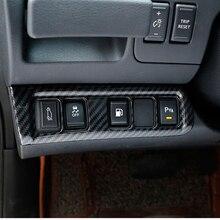 ABS Chrome для Nissan Navara NP300 2017-2019 автомобилей для укладки фары переключатель пайетки внутренние наклейки автомобильные аксессуары
