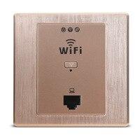86 Type Wireless Power Panel Socket 220V Panel Embedded Wall Socket AP Router Extender Hotel Wifi Switch AP Panel Socket