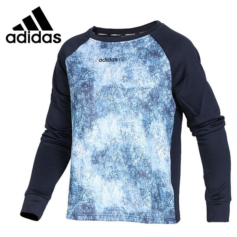Original New Arrival 2017 Adidas NEO Label W STD AOP SWT Women's Pullover Jerseys Sportswear original new arrival official adidas neo label men s jacket hooded sportswear