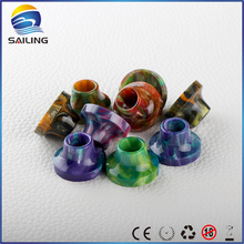 Sailing hot selling Epoxy resin drip tips for limitless plus atomizer electronic cigarette vape smoke mouthpiece