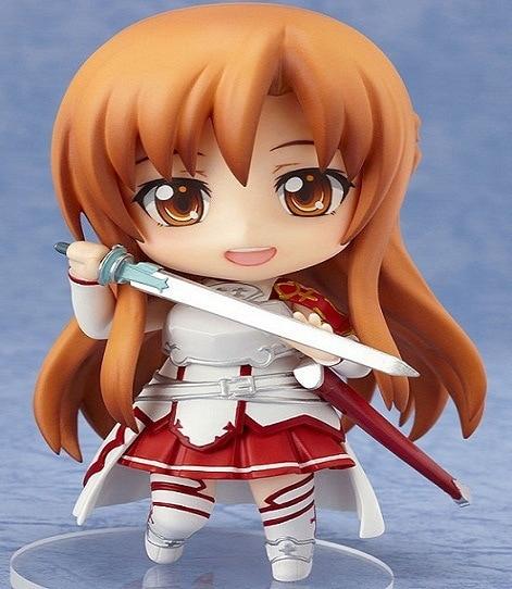 Nendoroid Mini Action Figure - Anime Sword Art Online 283 Yuuki Asuna BJD