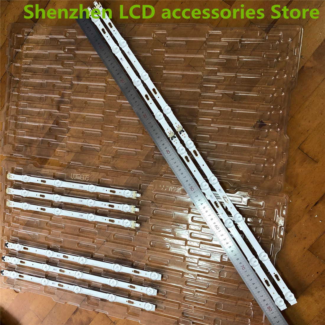 10 PCS LED Backlight  For Samsung UE40JU6000 V5DU-400DCA-R1 V5DU-400DCB-R1 BN96-34791A 34792A S_5u75_40_FL_L04 R05  100%NEW