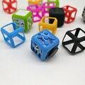 Caso Caixa de Prisma para Fidget Brinquedo Cubo de silício Anti Stress TDAH