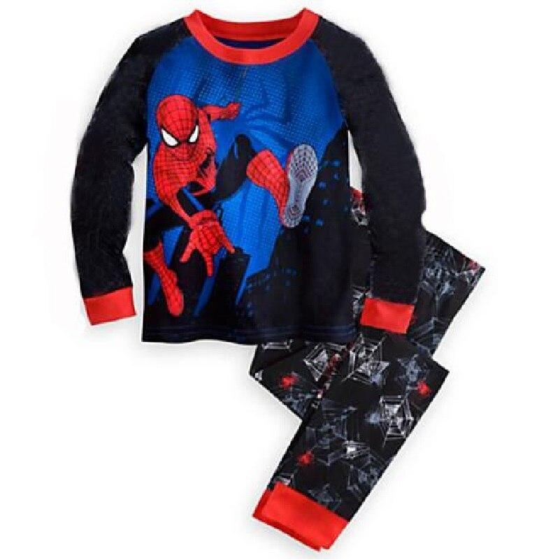Popular Black Spiderman Pajamas-Buy Cheap Black Spiderman Pajamas ...