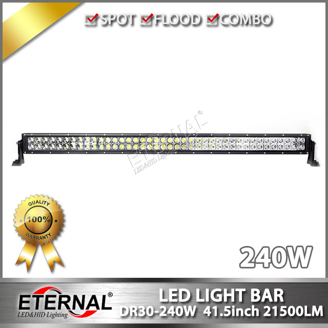 wholesale 4pcs- 240W LED light bar high power LED Work Light Bar for Tractor Boat OffRoad 4WD 4x4 Car Truck SUV pick up truck