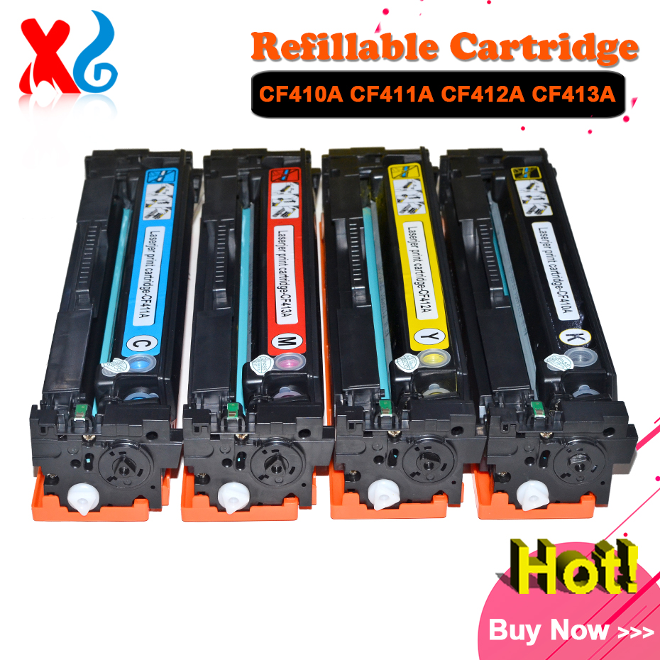 1X CF410A CF411A CF412A CF413A Toner Cartridge for HP Color LaserJet Pro M452dn M452dw M452nw MFP M377dw M477fdn M477fdw M477fnw use for hp color laserjet pro mfp m177fw toner cartridge for hp cf350a cf351a cf352a cf353a 130a toner toner refill for hp m176