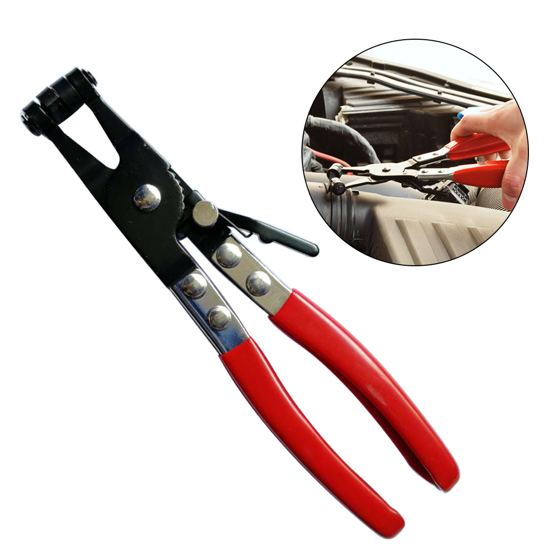 New High Quality Car Water Pipe Hose Removal Tool Flat Band Ring Type Hose Clamp Pliers|Pliers| |  - title=