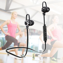 Wireless Bluetooth Headset V4.0 Sports Earphone Gym Headphone with Mic Earbuds Universal for Samsung iPhone Xiaomi Note PC