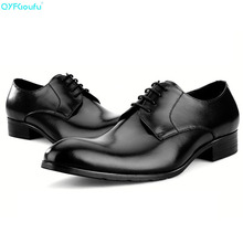 Brand Mens Italian Dress Shoes Oxfords 100% Genuine Leather Fashion Handmade Designers Italy Business