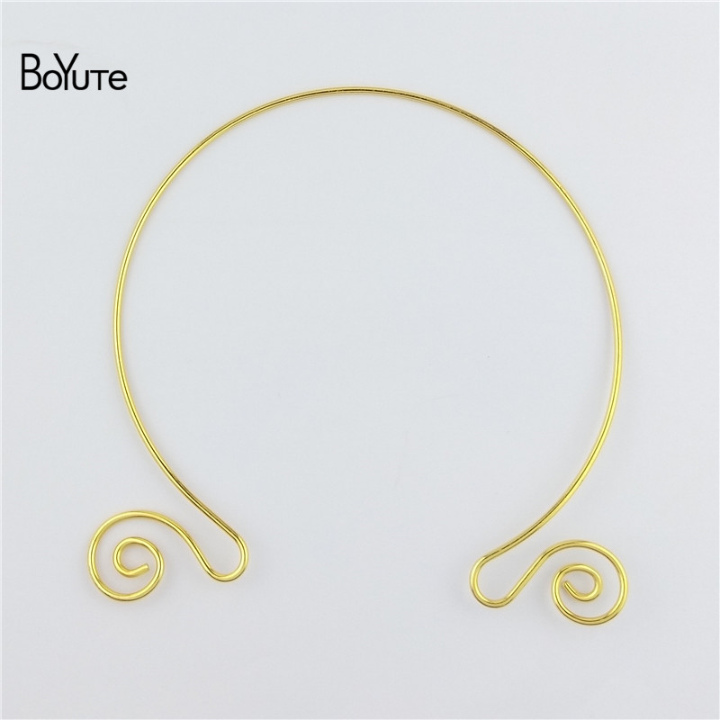 BoYuTe 1552MM Metal Copper Women Wreath Collar Choker Necklace Diy Jewelry Accessories (1)