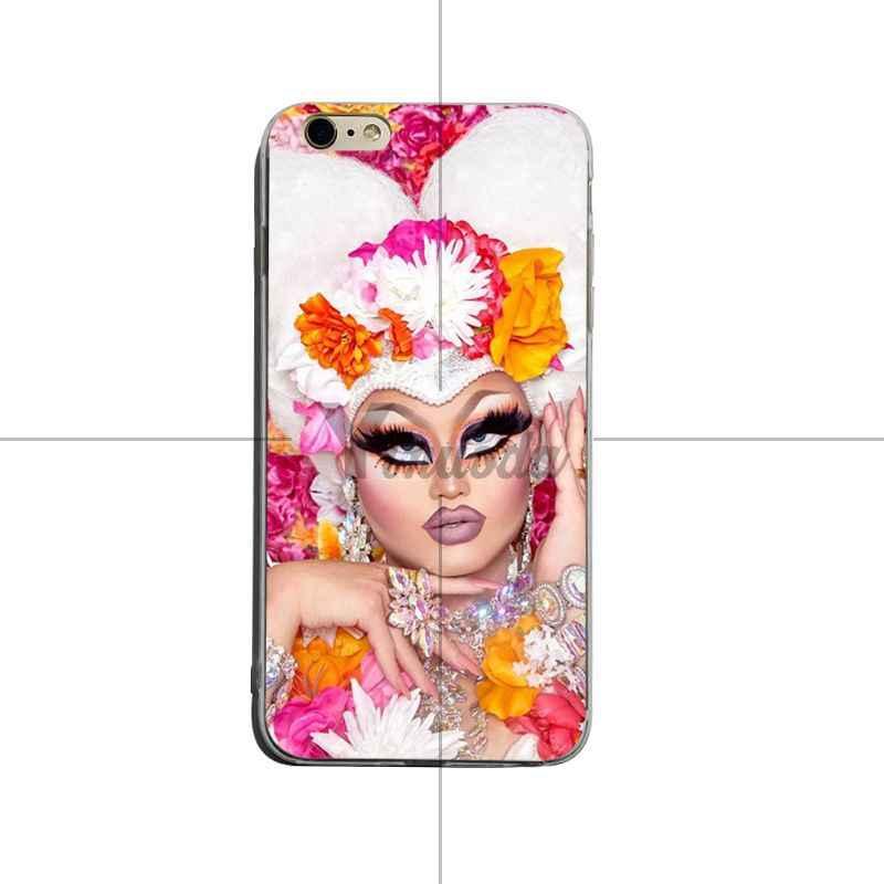 promo code d79c3 459b6 Yinuoda RuPaul's Drag Race Cute Phone Accessories Case For iPhone 8 8plus 7  7plus 6s 6sPlus XSMax X XS XR