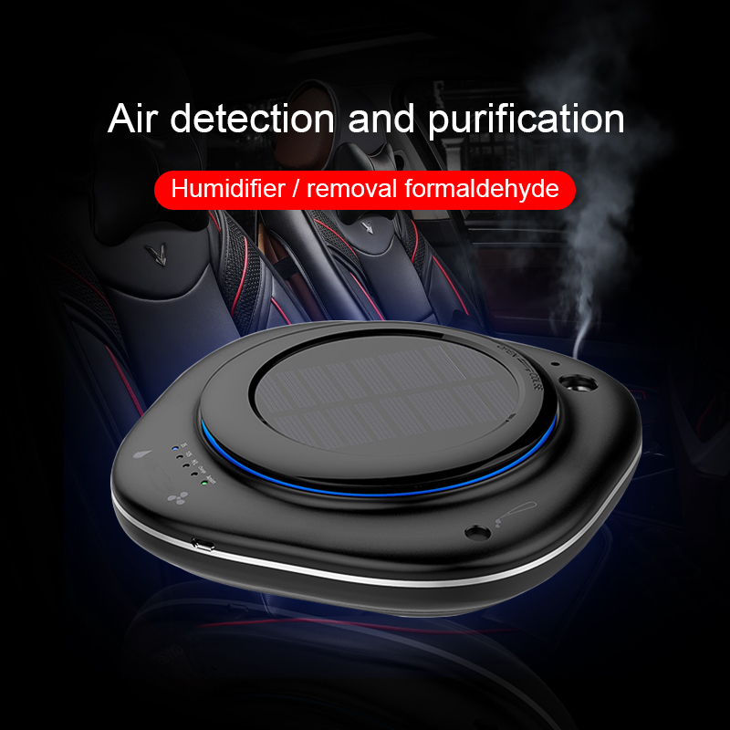 MWdao Car Air Purifier Vehicle Air Ionizer Cleaner Fresh Humidifier Negative Ion Ozone Ozonizer Odor Eliminator Usb For Car