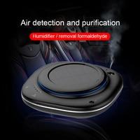 MWdao car air purifier vehicle air ionizer cleaner fresh Humidifier negative ion ozone ozonizer odor eliminator usb for car