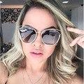 Mix Vento new hot venda de moda de nova real do metal frame óculos de sol das mulheres designer de marca retro vintage óculos de sol olho de gato livre navio