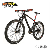 Newest Luxury Leopard Twitter 27 5 Full Carbon Fiber Mountain Bike MTB With FOX Air For