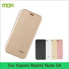 For Xiaomi Redmi Note 5A Case Mofi Book Stand PU Leather Flip Back Cover Case For Xiaomi Redmi Note 5A Phone Cases Shell