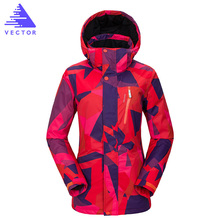 Ski Jacket 2018 High Quality Women Snowboard Jacket Waterproof Warm Outdoor Snow Sportswear Women Climbing Snow Skiing Clothes