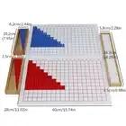 Bambini Bambini Matematica Montessori Giocattoli Educazione Giocattoli di Legno Aggiunta, sottrazione, moltiplicazione e Divisione Boards - 5