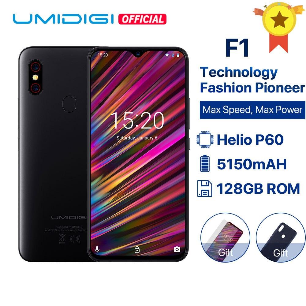 UMIDIGI F1 Android 9.0 Helio P60 6.3