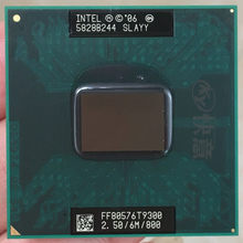 Intel Core 2 Duo T9300 CPU procesor laptopa PGA 478 cpu 100% działa poprawnie(China)
