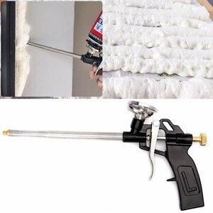 Image 1 - Pistolet de pulvérisation de mousse PU manuel, robuste, bonne isolation, applicateur professionnel, 312x140mm, 5AC800434