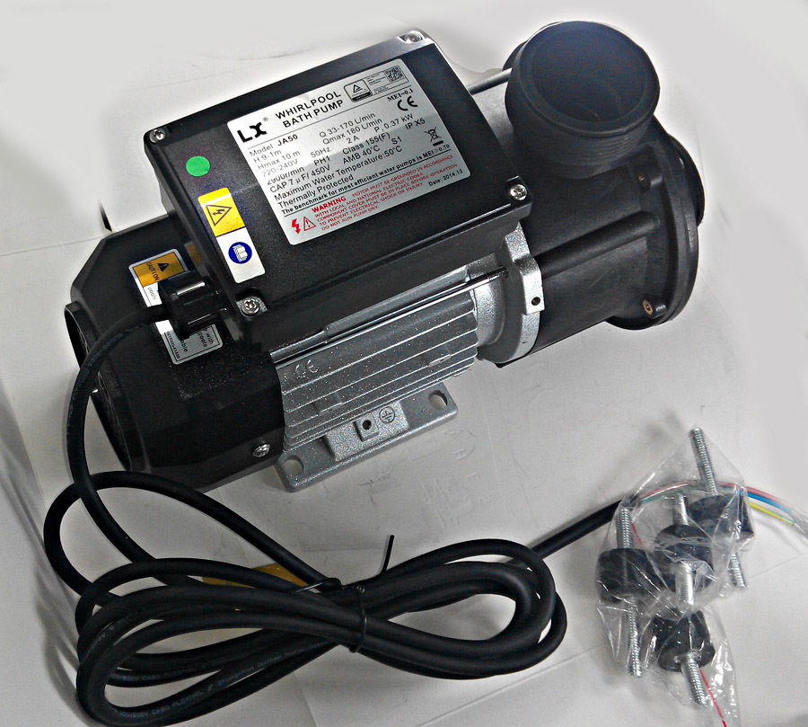Whirlpool Spa Pool Pump - 250 Watt -massage bath Pump JA35 0.35HP/0.25KW & Bathtub pump as bathtub part