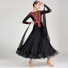 flower sequins women ballroom dance dresses for sale smooth dress competition costumes waltz