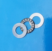 Thrust needle roller bearing with two washers NTA512+2TRA512 Size is 7.92*19.5* ( 1.984+2*0.8 ) mm,TC512