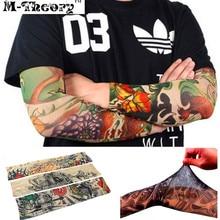M-theory 3D Tattoos Sleeve Arm Stockings Leggings Elastic Temporary Body Makeup 3d Henna Tatuagem Tatto Flash Tatoos Arts