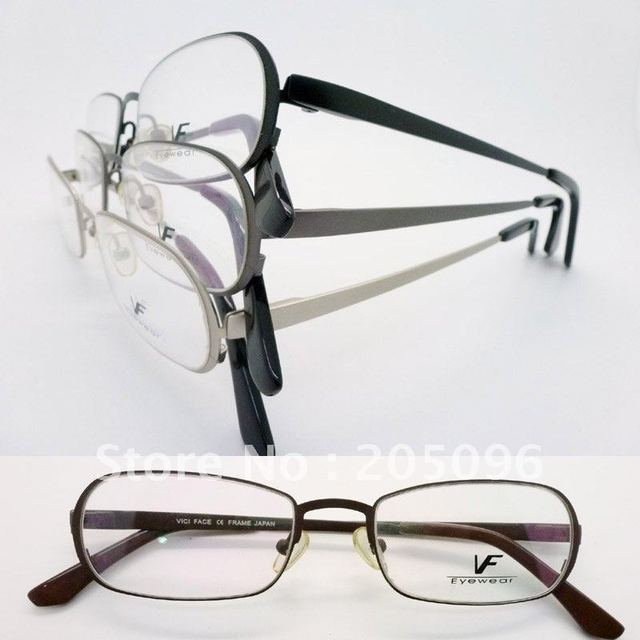 VF 6266 stainless steel bendable plank full rim eyeglasses frame supper spring steel plank eyeglasses wholesaler free shipping
